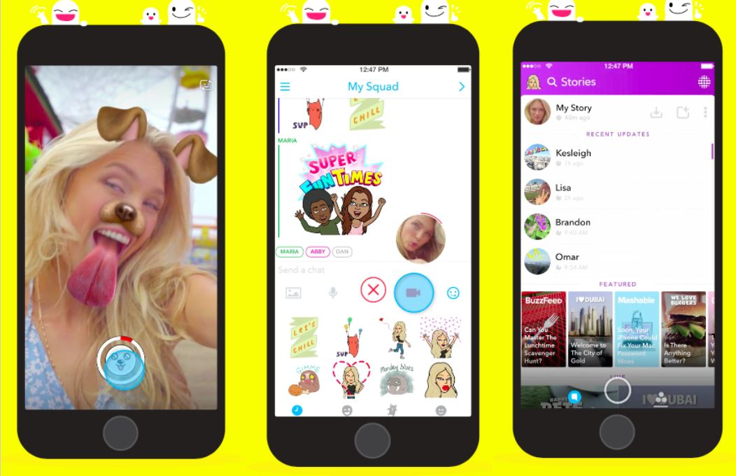 childs use snapchat