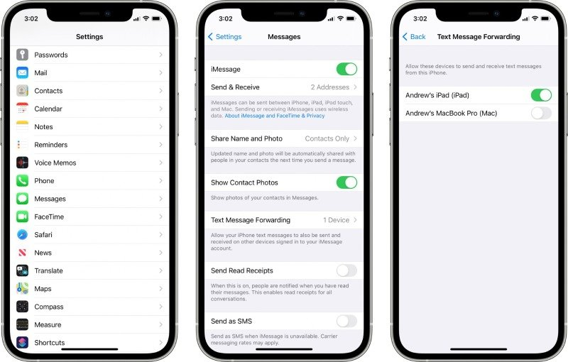 iPhone-text-message-forwarding